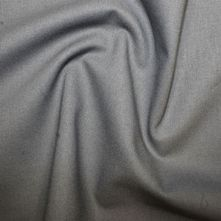 100% Cotton School Grey Plain Dyed Fabric 44